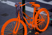 Brand  NEW Orange 2009 Five Diva pro Bike $1, 500
