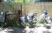 For Sall : 2 push-bikes full equiped for long travel